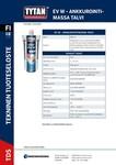 TYTAN TDS |  EV1 W Ankkurointimassa