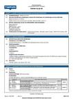 TIMPURI MSDS | Filler WF - Snickerispackel