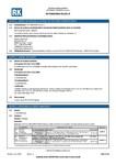 RK MSDS | Finishing Filler LF - Hienotasoite
