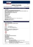 TYTAN MSDS | EV1 W Ankkurointimassa TALVI
