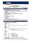 TYTAN MSDS | O2 Styro B1 Pistol Skum