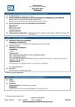 RK MSDS | Solution Wipes Professional Duty - Rengöringsduk