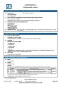 RK MSDS | Finishing Filler LF 400 ml
