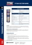 TYTAN TDS | Vector Rapid