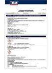 TYTAN MSDS | Vector Rapid