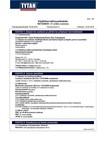 TYTAN MSDS | Power Flex Kirkas